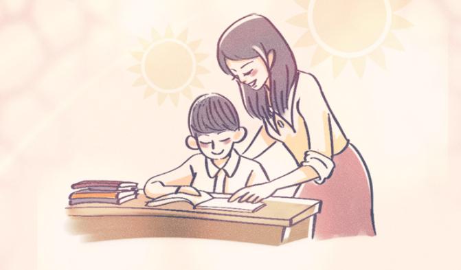 教师节创意手绘:师恩如光