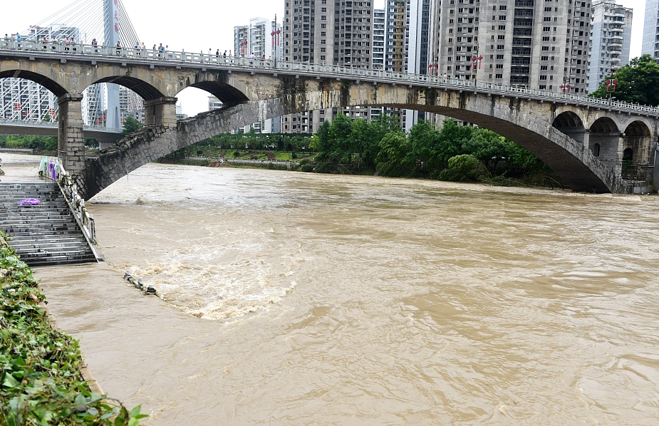河南再次升级发布洪水红色预警