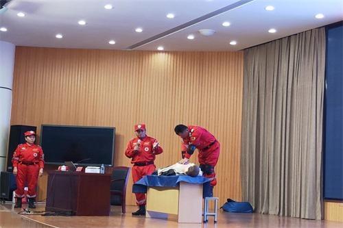 淄博市周村区举行幼儿园常见意外伤害急救知识培训