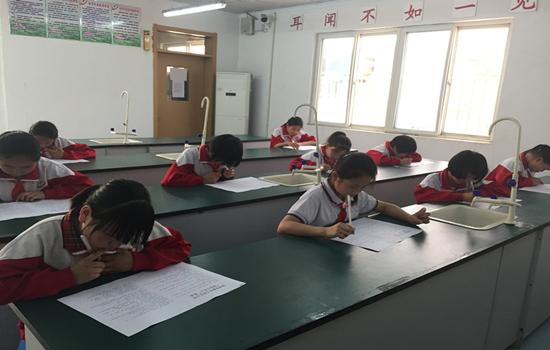 """济南高新区大码头小学举办争当""""国学小名士""""活动"""
