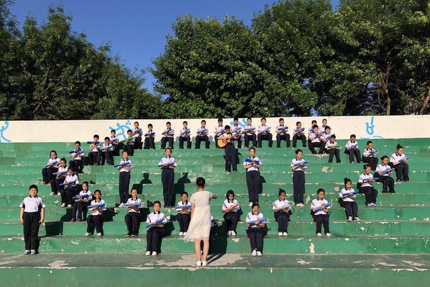 东营市实验中学举行第十六届器乐比赛