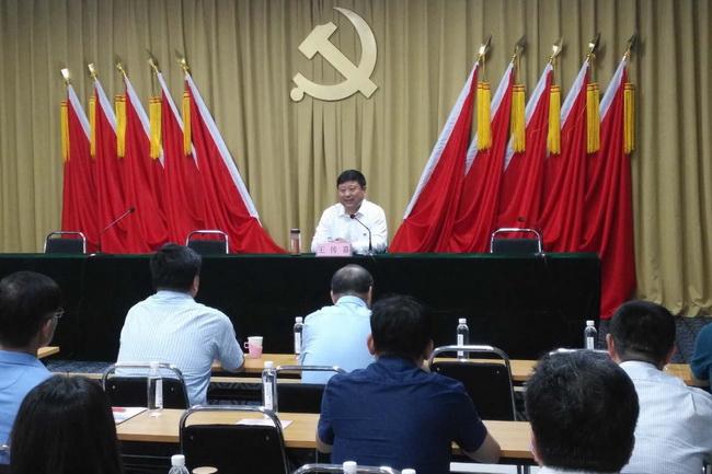 省教育厅(省委教育工委)机关组织开展基层党组织书记第一期培训