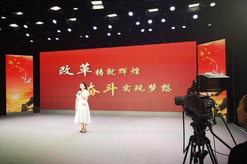 """济南传媒学校积极参与""""中国梦•新时代•祖国颂""""百姓宣讲活动"""
