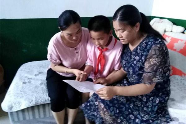 把温暖和希望送进千家万户——济宁市汶上县郭楼镇明德小学开展教师全员大家访
