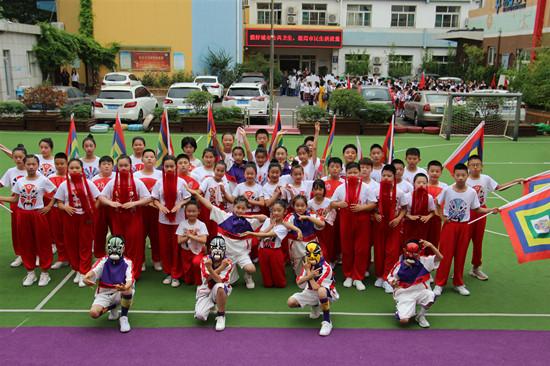 槐荫区第十五届中小学(班级)文化艺术节举行