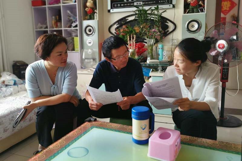 """用心家访,让""""教育""""到家:金乡县实验小学教育集团第二实验小学举行家访活动"""