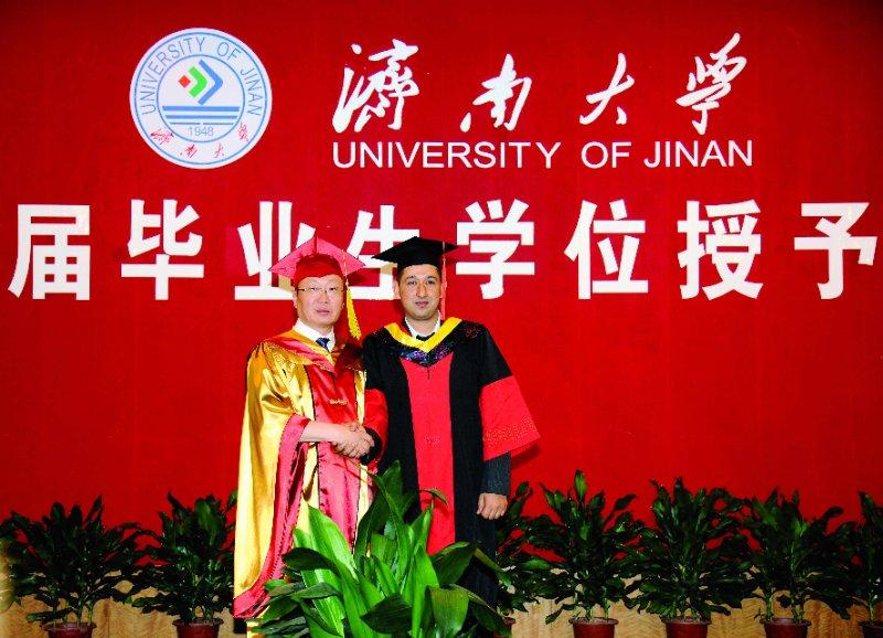 济南大学首届国际博士研究生毕业 攻读专业均为化学工程与技术