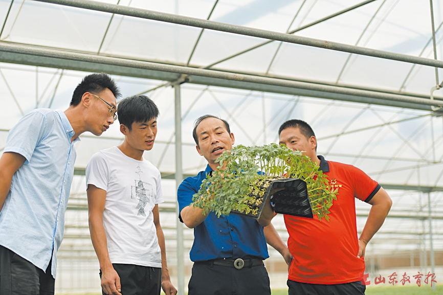 """寿光市""""校园+田园""""培养模式成就新型农民""""职业幸福"""""""
