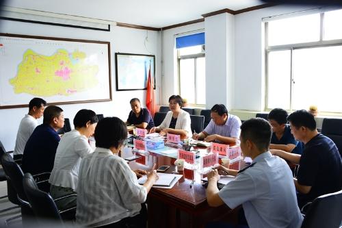 淄博市高青县教育卫生安全工作委员会成员单位会议召开