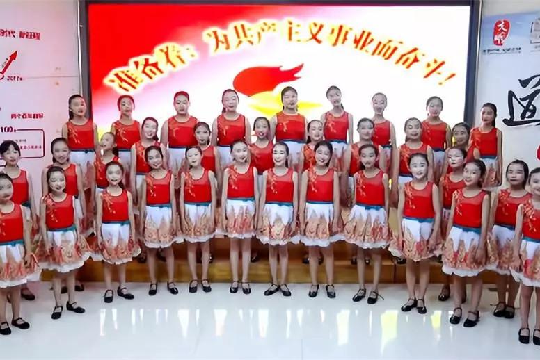 淄博张店区潘南小学为祖国歌唱,礼赞新时代!
