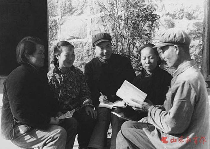 """莒南县高家柳沟村""""记工学习班""""66年的接力跑"""