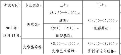 2020山东省美术类文学编导类考试时间.jpg