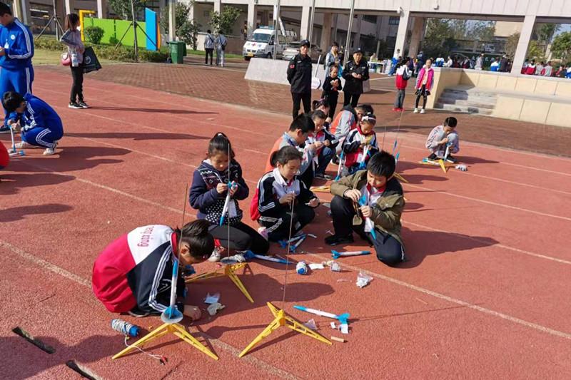 肥城市实验小学在第四届泰安青少年科技智力运动会中获佳绩
