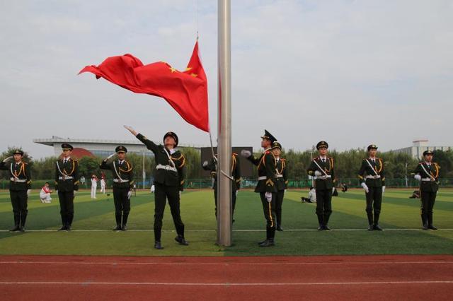 山东省高校升旗手交流展示活动成功举办