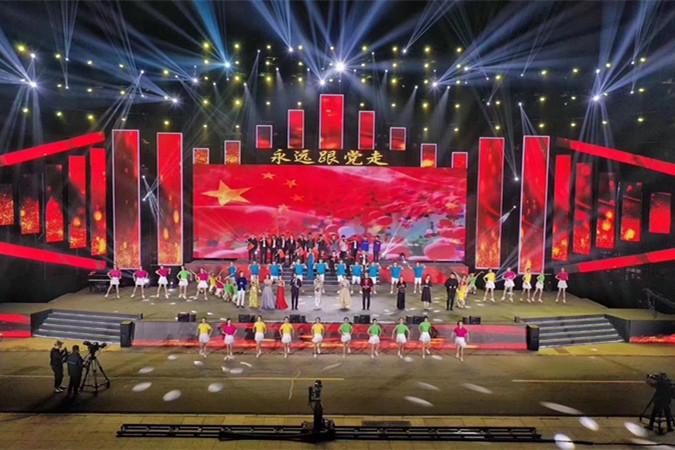 放歌新时代!山东省大学生校园最美歌声大赛颁奖典礼举行