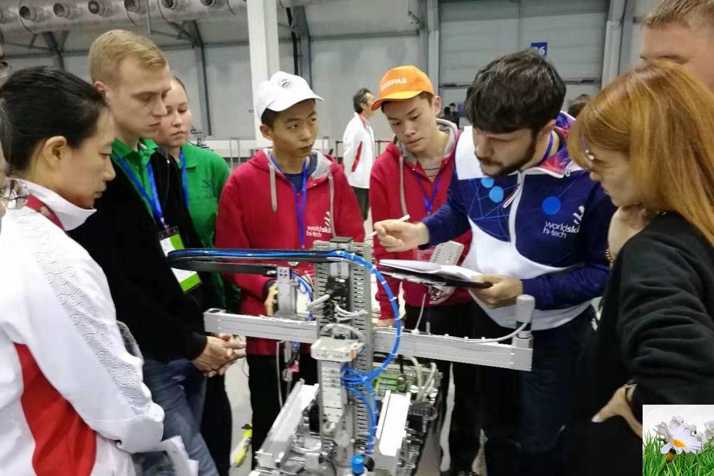 山东职业学院首次出国比赛斩获第三届金砖大赛欧亚公开赛银牌
