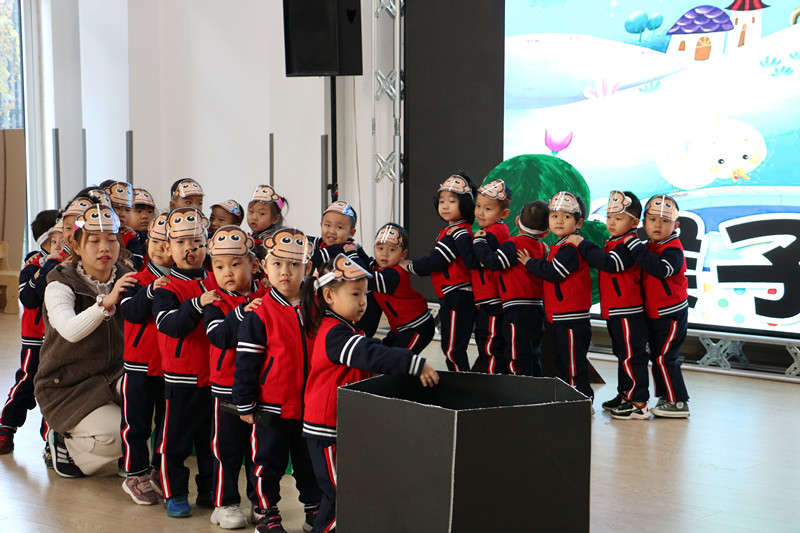 童心看世界、童话悦童年——济南市天桥区凡尔赛幼儿园举办第一届童话剧表演活动