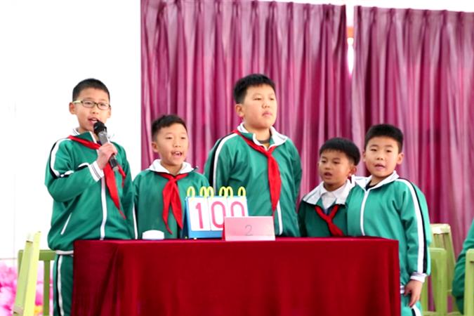 长岛第一实验学校举办第二届中华优秀传统文化知识暨国学小名士大赛