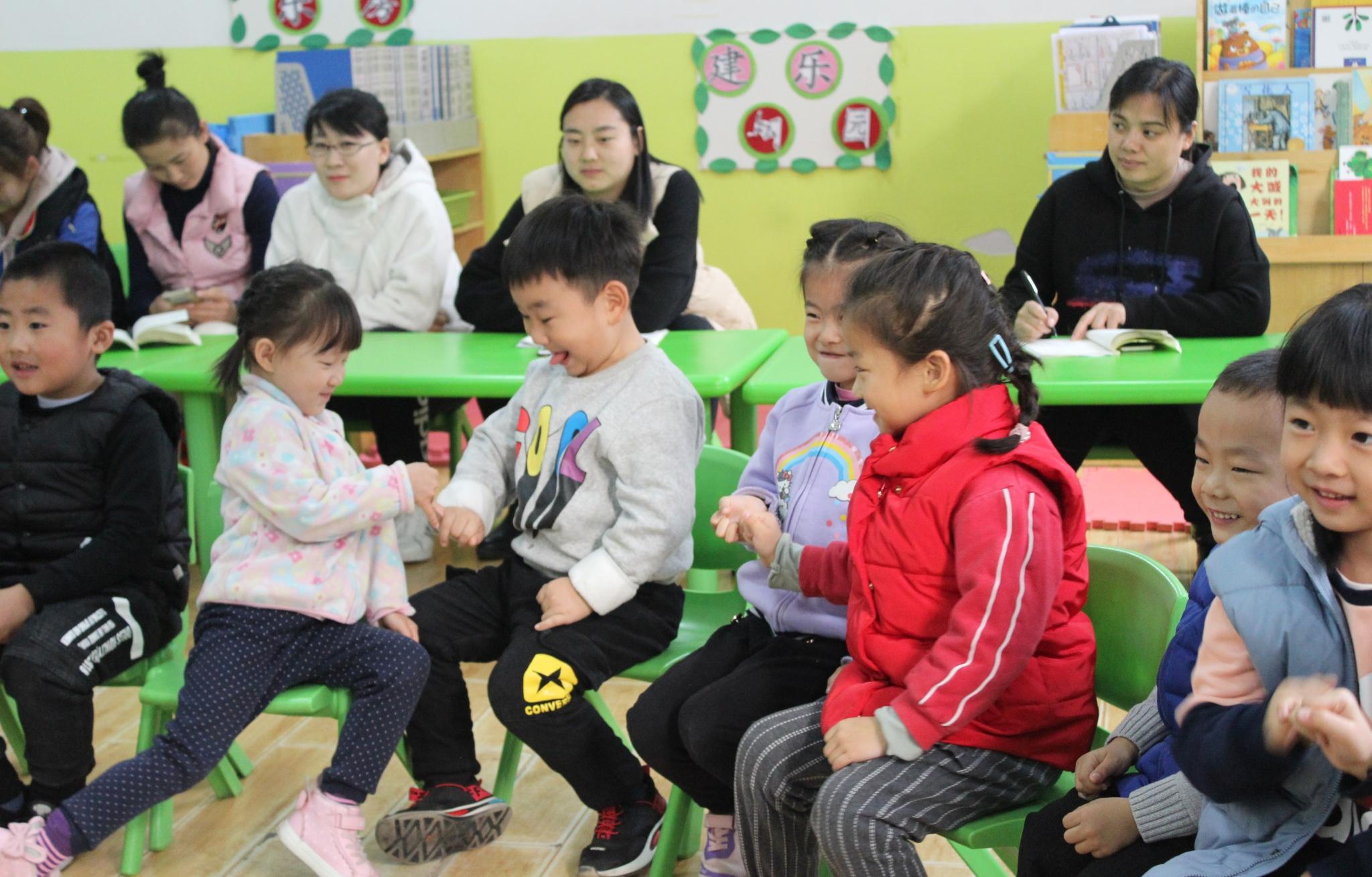 互交流,共提升 ——济南市天桥区幼教中心第三实验幼儿园领域集体教学研讨活动