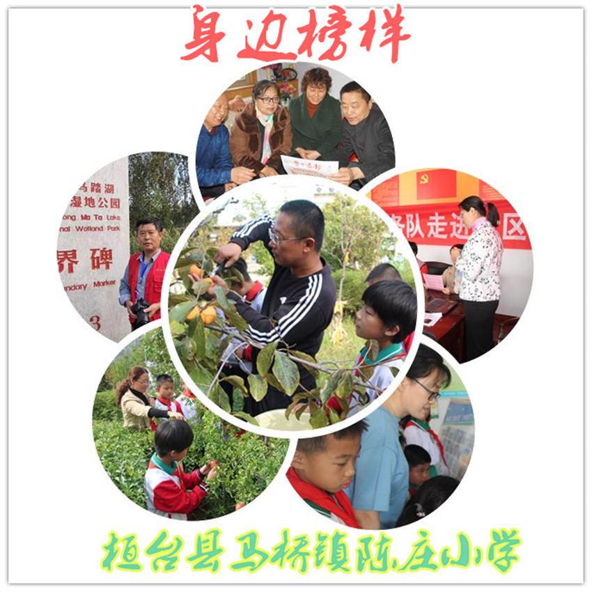 淄博市桓台县陈庄小学用榜样力量传递校园新风
