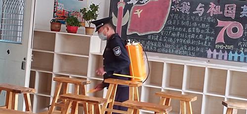 淄博市桓台县实验小学多措并举预防流感