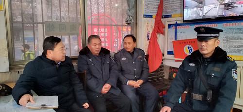 淄博市桓台县实验小学召开安保人员会议