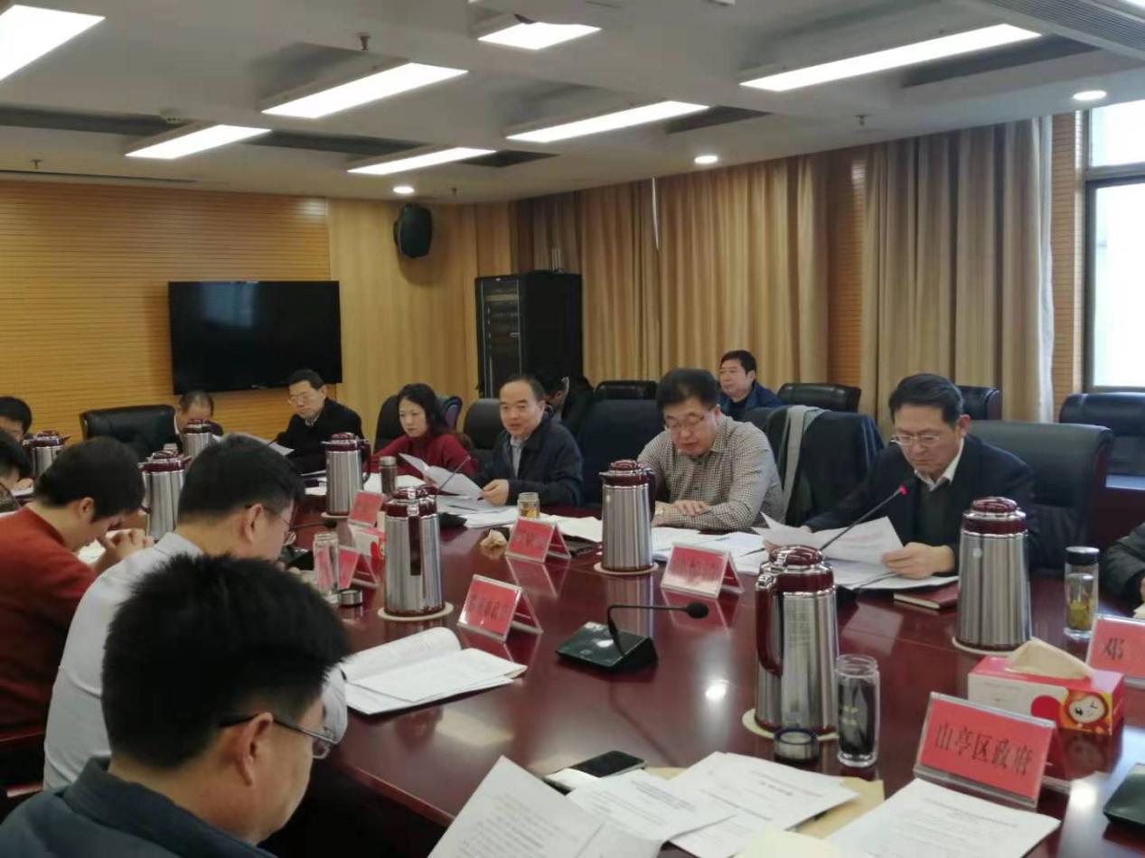 枣庄市政府召开政府履行manbetx网页版手机登录职责评价整改工作推进会议