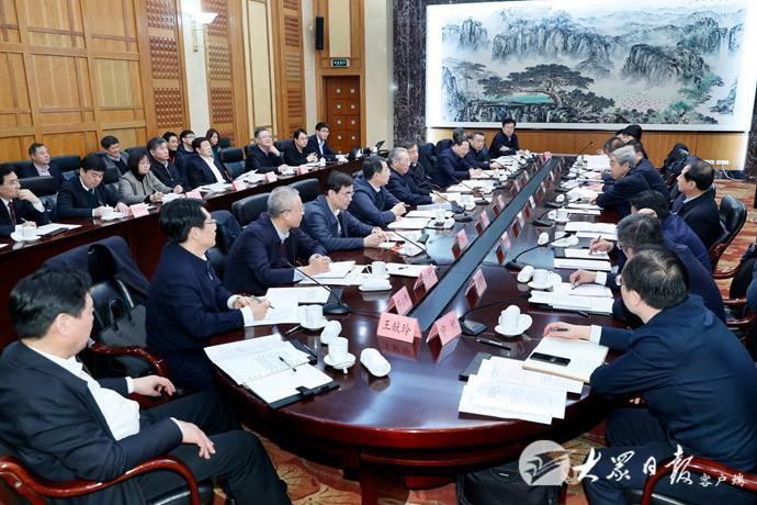 部省共建国家职业教育创新发展高地领导小组召开第一次会议