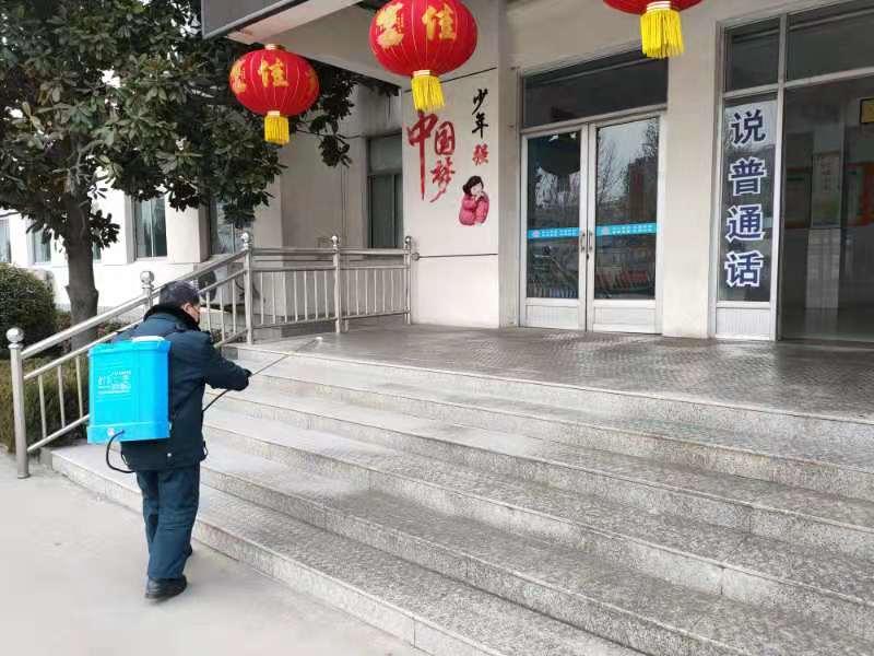 """淄博市桓台县陈庄小学""""三措并举""""全力做好疫情防控工作"""