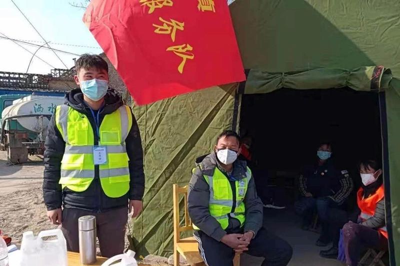 疫情防控,山理工团员青年在行动!