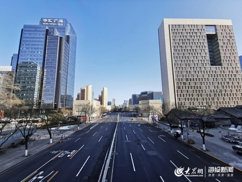 圖集|新冠肺炎疫情之下,北京復工後首個(ge)周末街道明(ming)顯冷清