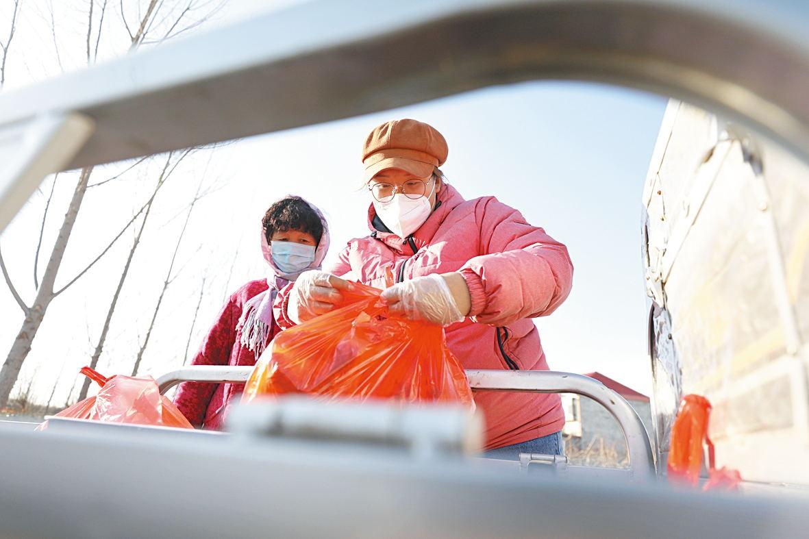 大学生参加新冠肺炎疫情阻击战