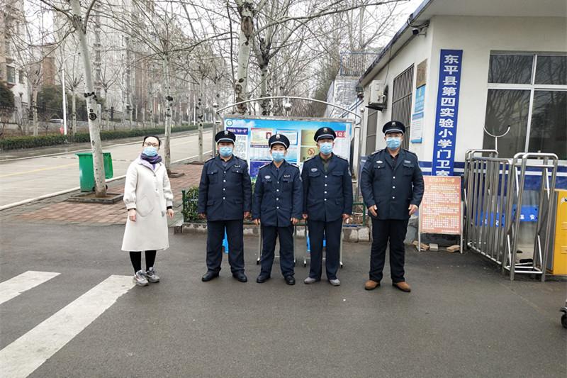 东平县第四实验小学王文敏:防疫一线,尽责奉献树旗帜