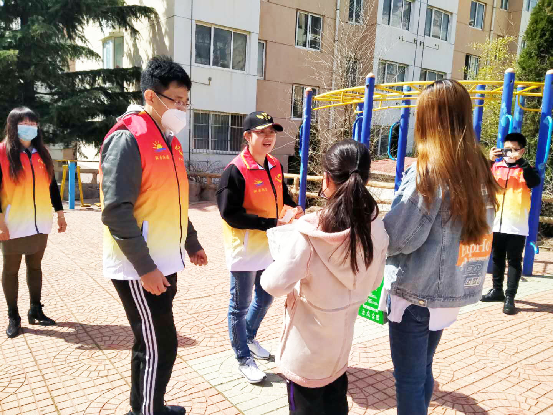 """荣成市石岛湾中学:送""""粮""""到家  希望送达"""