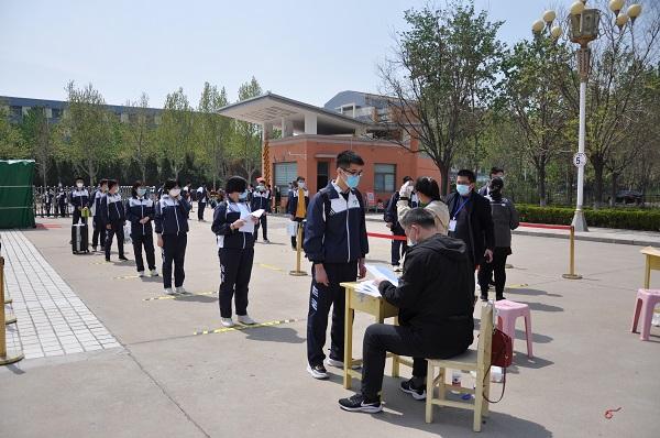 博兴县3所高中2704名毕业生顺利返校