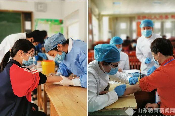 兰陵县高三5633名学生返校复学 全部进行血清抗体检测