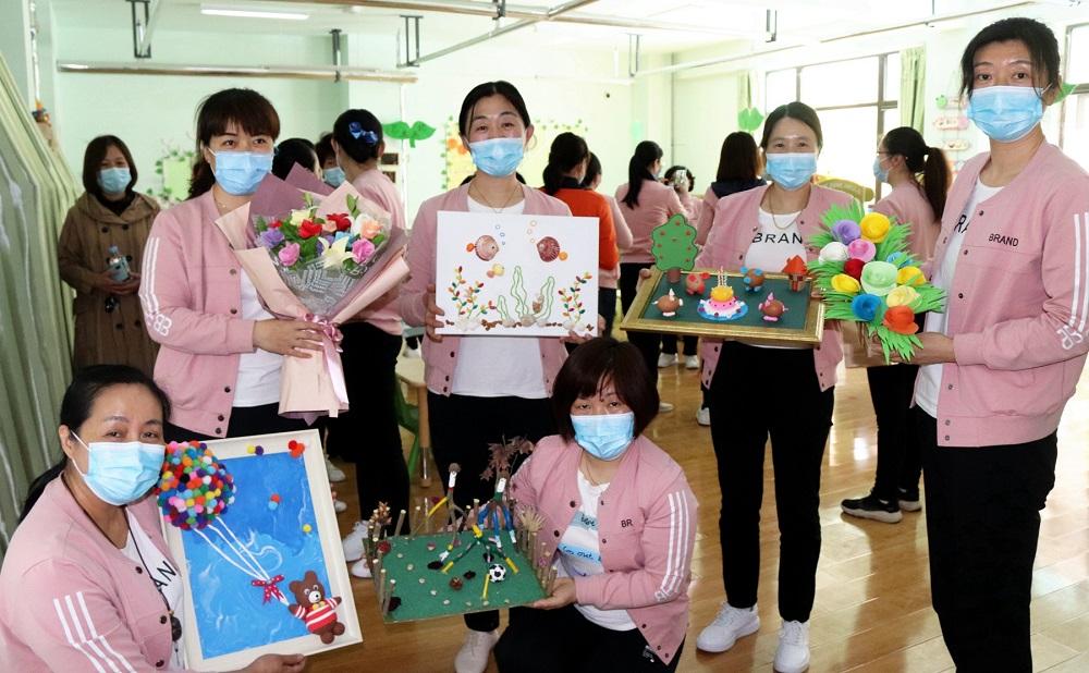 山东省实验小学(幼儿园)举行教职工保育技能展示活动
