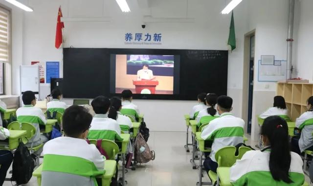 """枣庄:初三年级学生迎来别样""""开学第一课"""""""
