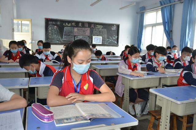 """恰逢人间五月天,我们全力以""""复""""——庆云县实验小学复学第一天纪实"""