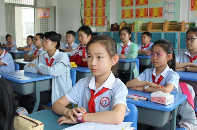 开学啦:东营市小学3—5年级学子开学第一天