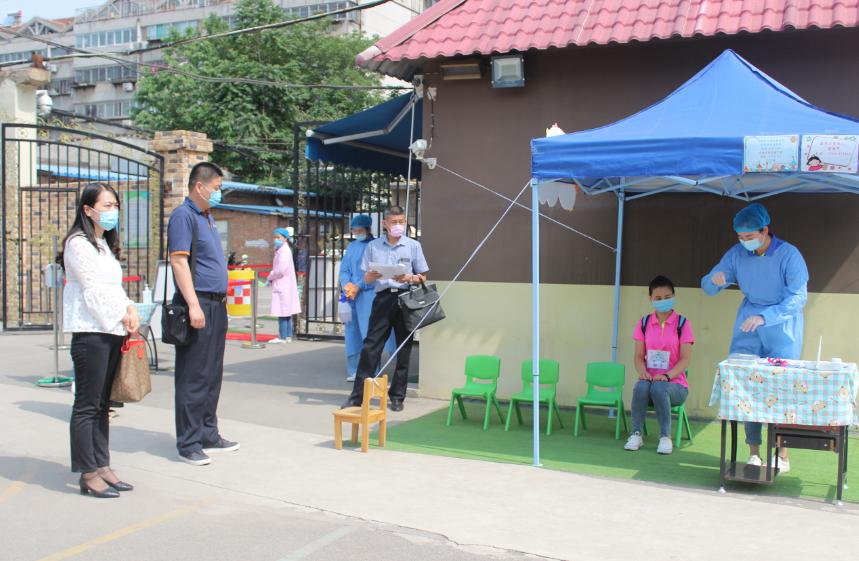 准备就绪  待你归来——济南市天桥区幼教中心第三实验幼儿园顺利通过开园核验