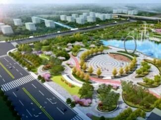新地标!临沂西城新建9个城市公园