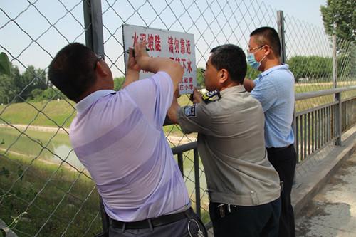 桓台县陈庄小学积极做好学生防溺水安全工作