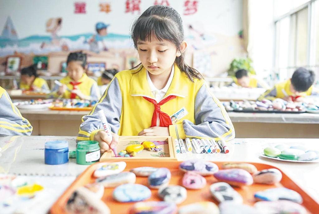 荣成市石岛实验小学开展海洋科普教育系列活动
