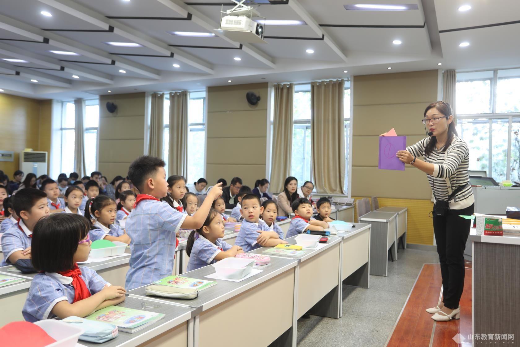德州市实验小学开展第十一届教学节青年教师展示课活动