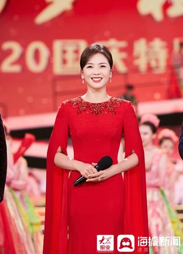 国庆节特别节目嘉宾主持柔道开幕气氛 优雅悠闲(/8)