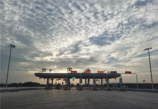出行更方便!京台高速微山县城连接线正式通车