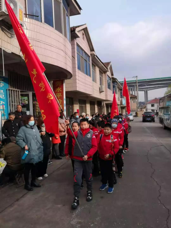 淄博市西冶街中小学校2016级3班小荷中队:重温红色记忆 追寻红色足迹