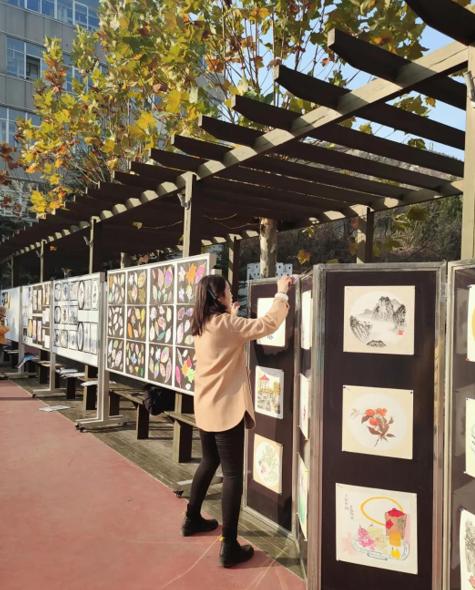 童心绘就童画 济南市历下区燕翔小学举办美术作品展