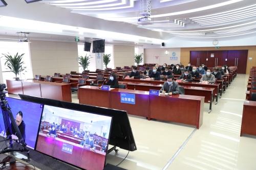 山东省组织收听收看2021届全国普通高校毕业生就业创业工作网络视频会议